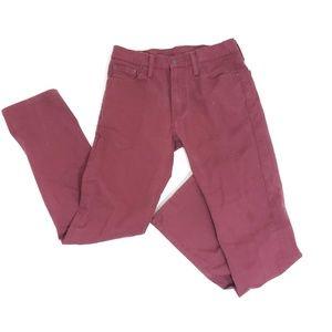 Mens Levi's 513 slim straight jeans 31X32